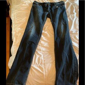 Men's Diesel Zatiny jeans, 33 x 34.